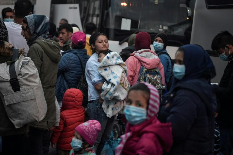 Greek officials say housing must be secured on the mainland for vulnerable asylum seekers, some shown here arriving in Piraeus from the islands