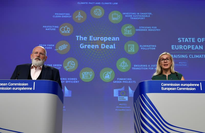 EU details energy savings and renewables push to reach tougher climate target