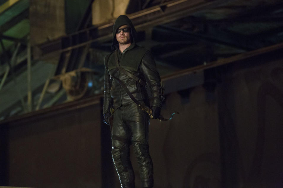 """Arrow"" -- ""Honor Thy Father"""
