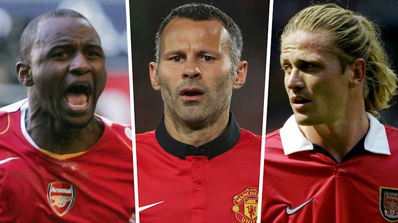 'Vieira got away with murder & Petit had long hair' - Giggs reveals his hatred for Arsenal