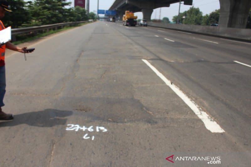 Sepekan ini, Jasa Marga lakukan pemeliharaan Tol Jakarta-Cikampek