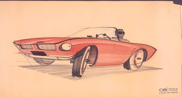 March 22: Raymond Loewy sketched the Studebaker Avanti on this date in 1961