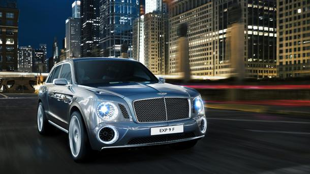Bentley EXP 9 F, just your everyday 600-hp ultra luxury SUV concept
