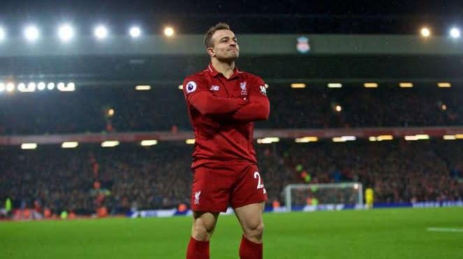 Winger Liverpool, Xherdan Shaqiri.