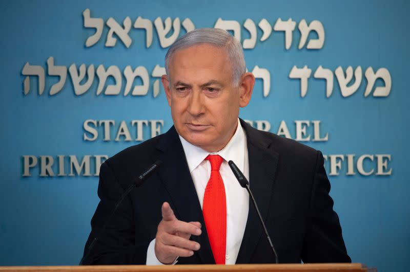 Israel's Netanyahu urges Beirut neighborhood to 'act now' on alleged Hezbollah arms depot