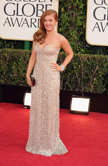 70th Annual Golden Globe Awards - Arrivals: Isla Fisher