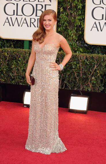 70th Annual Golden Globe Awards - Arrivals: Isla Fisher
