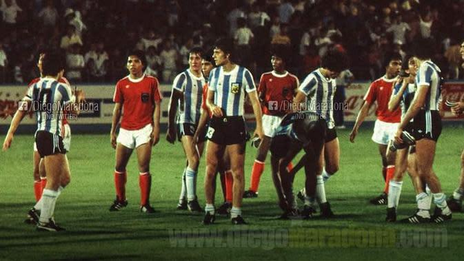 Indonesia vs Argentina di Piala Dunia U-20 1979. (diegomaradona.com)