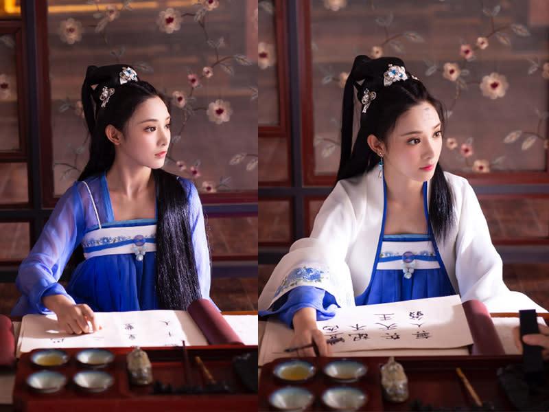 豊朝中原服飾 藍色公主裝