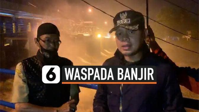 VIDEO: Bendungan Katulampa Siaga 1, Wali Kota Bogor Peringatkan Warga Bogor dan Jakarta