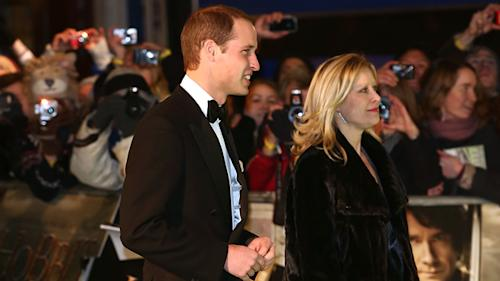 William Attends 'Hobbit' Premiere Without Kate