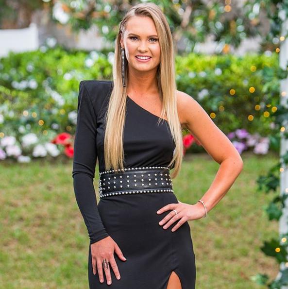 A photo of Chelsie, a bachelorette on The Bachelor Australia 2019.