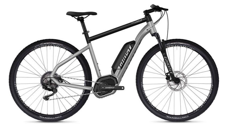 Best Electric Bike: Ghost Hybride Square