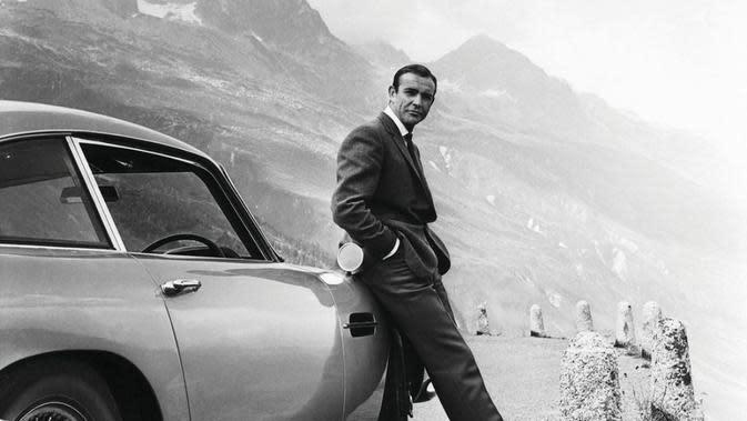 Sean Connery saat jadi James Bond di Goldfinger. (dok. 007.com)