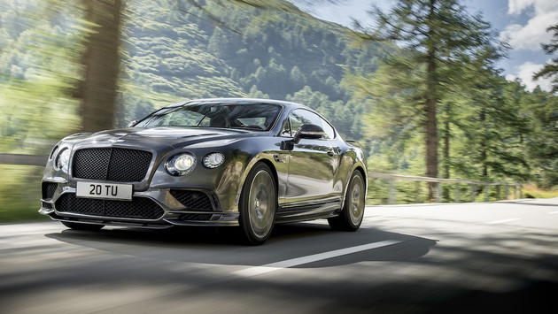 Bentley發表全新Continental Supersports 性能更強悍