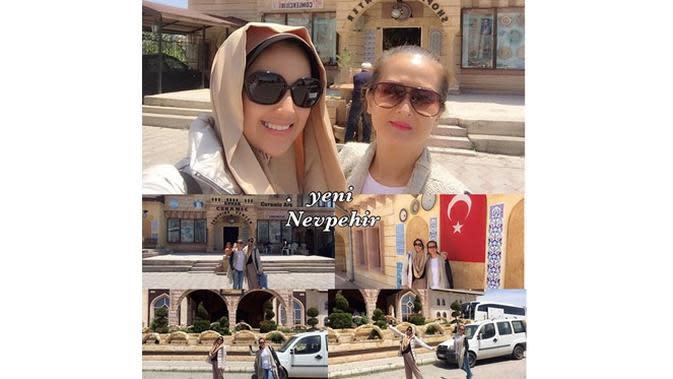 6 Potret Sylvia Fully Tampil Berhijab, Aktris Hits FTV (sumber: Instagram.com/sylvia_fully88)