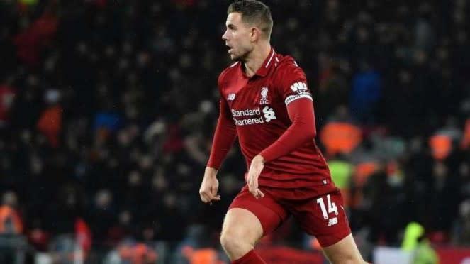 Kapten Liverpool, Jordan Henderson.