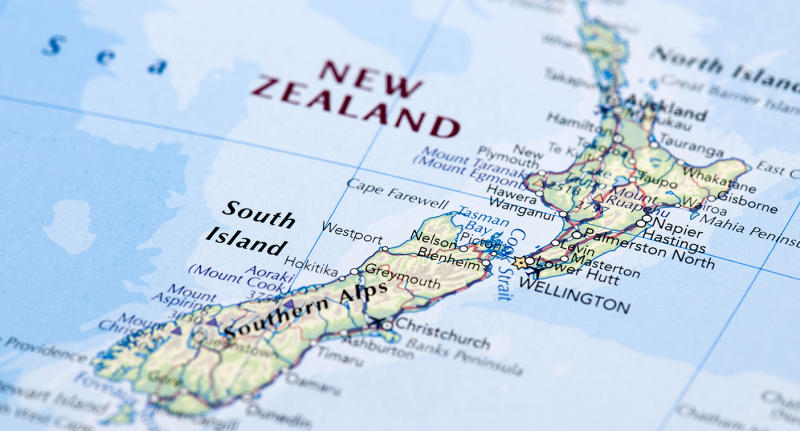 Where Is Wanganui In New Zealand Map.Strong 7 4 Magnitude Earthquake Hits Islands Off New Zealand