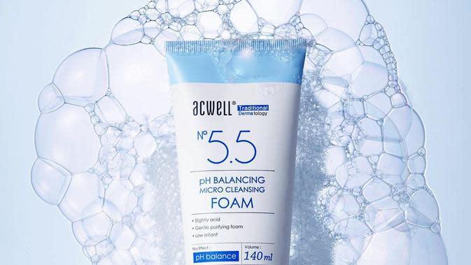 Dengan menggunakan pengobatan tradisional Korea, Acwell mampu mengatasi kulit sensitif (Foto: instagram/acwell_global)