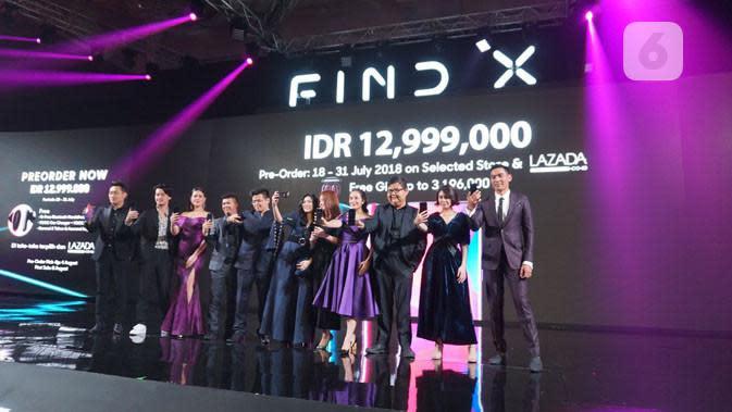 Harga Oppo Find X di Indonesia. Liputan6.com/ Yuslianson