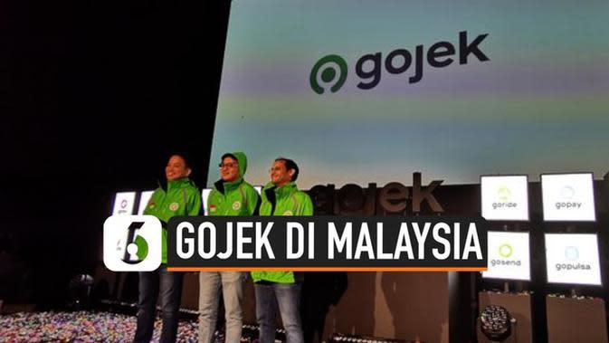 VIDEO: Mulai Januari 2020, Gojek Mengaspal di Malaysia