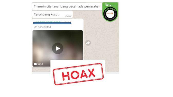 Cek Fakta video Thamrin City dijarah