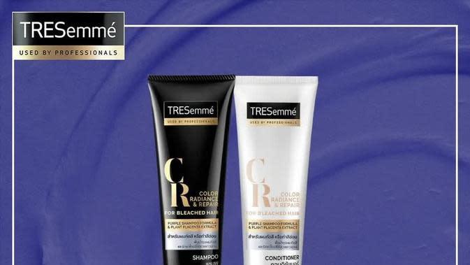 ©TRESemmé Color Radiance & Repair Shampoo for Bleached Hair.