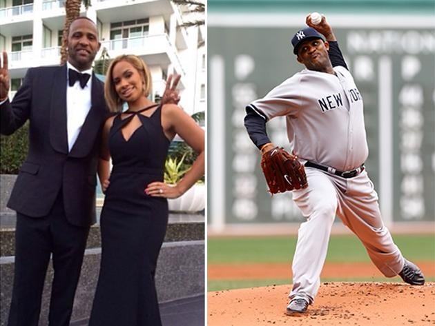 CC Sabathia is looking a lot slimmer, and he's hanging out with the cast of 'Entourage'
