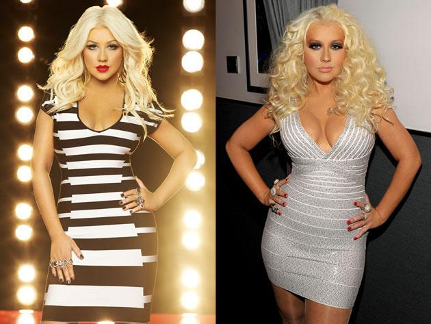 Check out Christina Aguilera's heavily altered 'Voice' promo pic