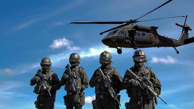 ilustrasi militer. (Pixabay)