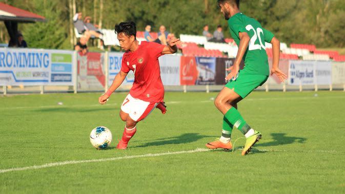 Timnas Indonesia U-19 Vs Arab Saudi U-19. (Dok PSSI).