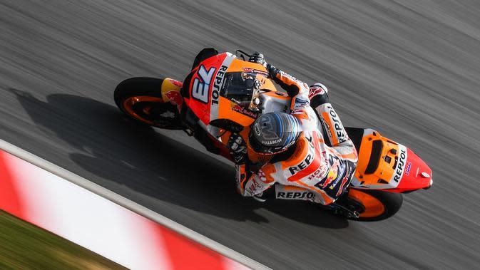 Warm Up MotoGP Emilia Romagna: Tumben, Alex Marquez Jadi Tercepat