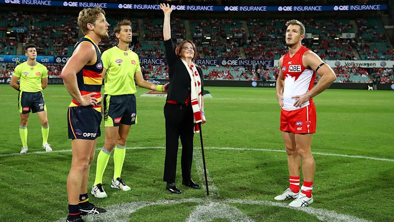 Eddie McGuire mocks plane crash survivor's coin toss