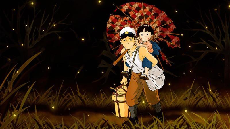 'Grave of the Fireflies'. (Credit: Studio Ghibli)