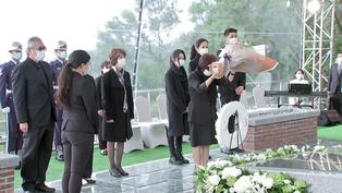 「民主先生最後一程」李登輝長眠五指山 陳菊:台灣感謝你