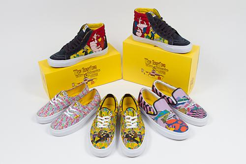 The Beatles Team With Vans for 'Yellow Submarine' Shoes
