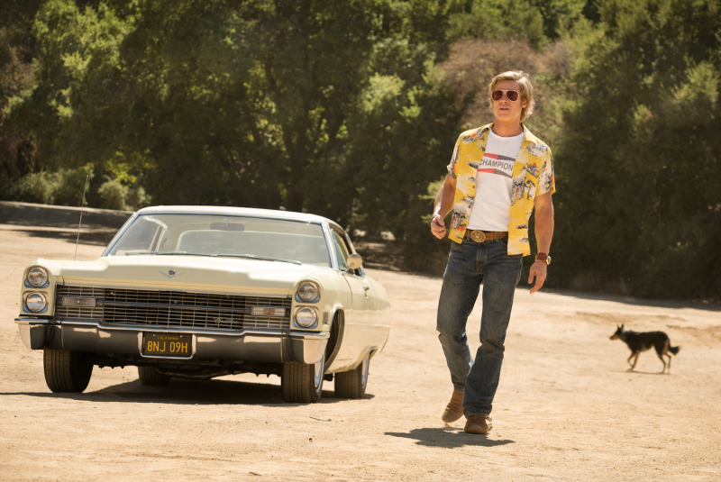 Brad Pitt Once upon a time in hollywood Spahn Ranch