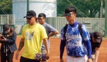 林子偉返校 昔日同學已成總教練