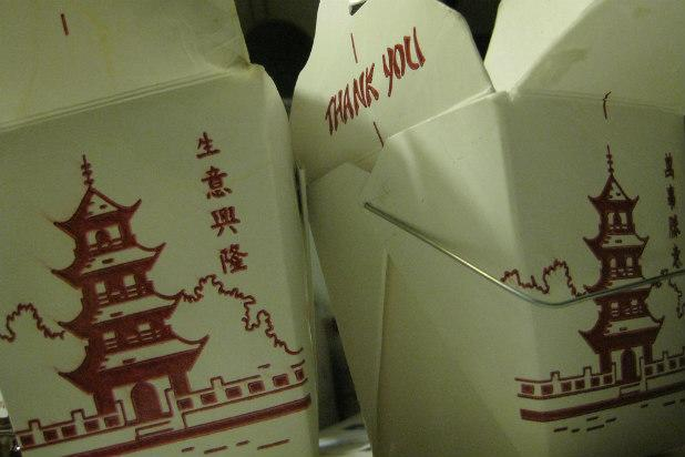 Those little white-carton wire-handled containers that are synonymous with Chinese takeout are actually a uniquely American invention, a from Chicago native Frederick Weeks Wilcox. The invention was an update on the wooden-box oyster pail, which was used to to the urban areas where they could be shucked on the spot. When the live oyster trade started to ebb, the wooden pails were used to bring Chinese food home from restaurants for quick and easy dinners.