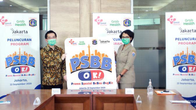Good Doctor Technology Indonesia bersama dengan Pemprov DKI Jakarta merilis program promo spesial bebas ongkos kirim! yang disingkat PSBB OK!
