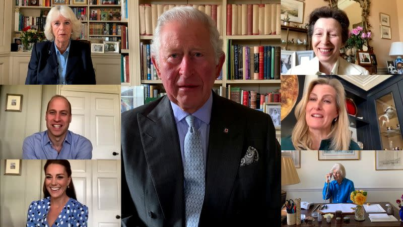 UK royals pay tribute to nurses across the world