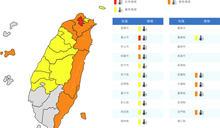 恐有颱風生成!3縣市大雨7縣市飆逾38℃ 周末全台有雨