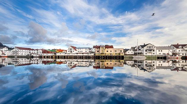 Reflecting on a fishing town: Flickr photo of the day