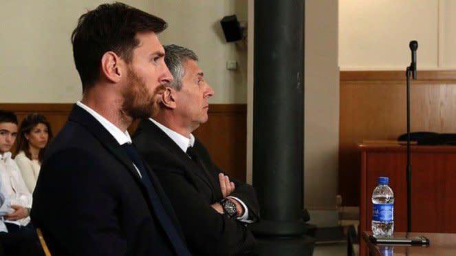 Megabintang Barcelona, Lionel Messi, dan sang ayah, Jorge