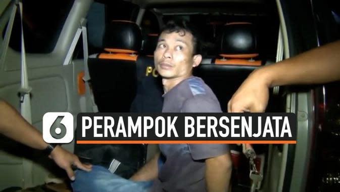 VIDEO: Aksi Kejar-kejaran Polisi dan Perampok Bersenjata di Jalan Lintas Sumatera