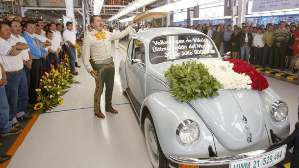 July 30: The last original Volkswagen Beetle was built on this date in 2003
