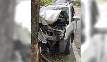 行車突撞樹!母死駕駛兒重傷 家屬「弟弟有時會失去意識」