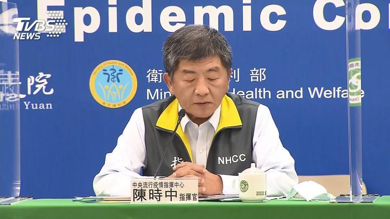 今日新增1例境外移入新冠肺炎確診案例,陳時中將在下午例行記者會說明。(圖/TVBS)