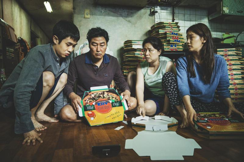 A still from Bong Joon Ho's <i>Parasite</i>. (Curzon)