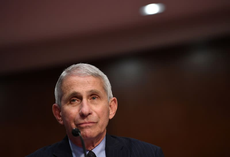 Fauci warns new U.S. cases of COVID-19 could double to 100,000 per day